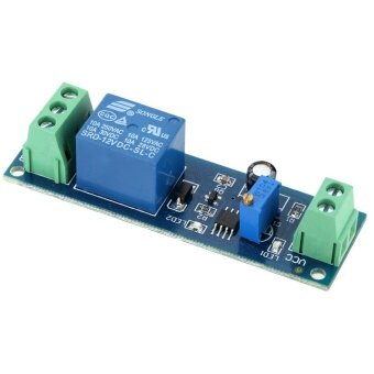 DC 12V Delay Time Delay-OFF Relay Module 0-10s Switch Control Cycle Timer - 3