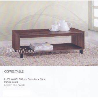 Harga Deco Coffee Table/Lounge Table/Side Table/Relax Table/Hall Table/Tea Table/Drinks Table/Study Table/Writing Table L1000MM X W400MM X H360MM