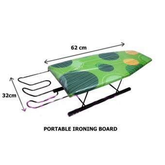 Deco Portable Mini Ironing Board/Mini Iron Board/Iron Board/Clothing Board/Papan Seterika/Ironing (Mix & Match Colour) L620MM X W320MM Pre Order 1 Week