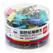 Deli 25mm multi-color cartridges binder clips clip