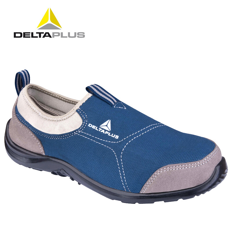 Buy Deltaplus steel toe safety shoes protective shoes for men and women summer breathable protective work shoes anti-smashing anti-stab Wear lightweight Malaysia