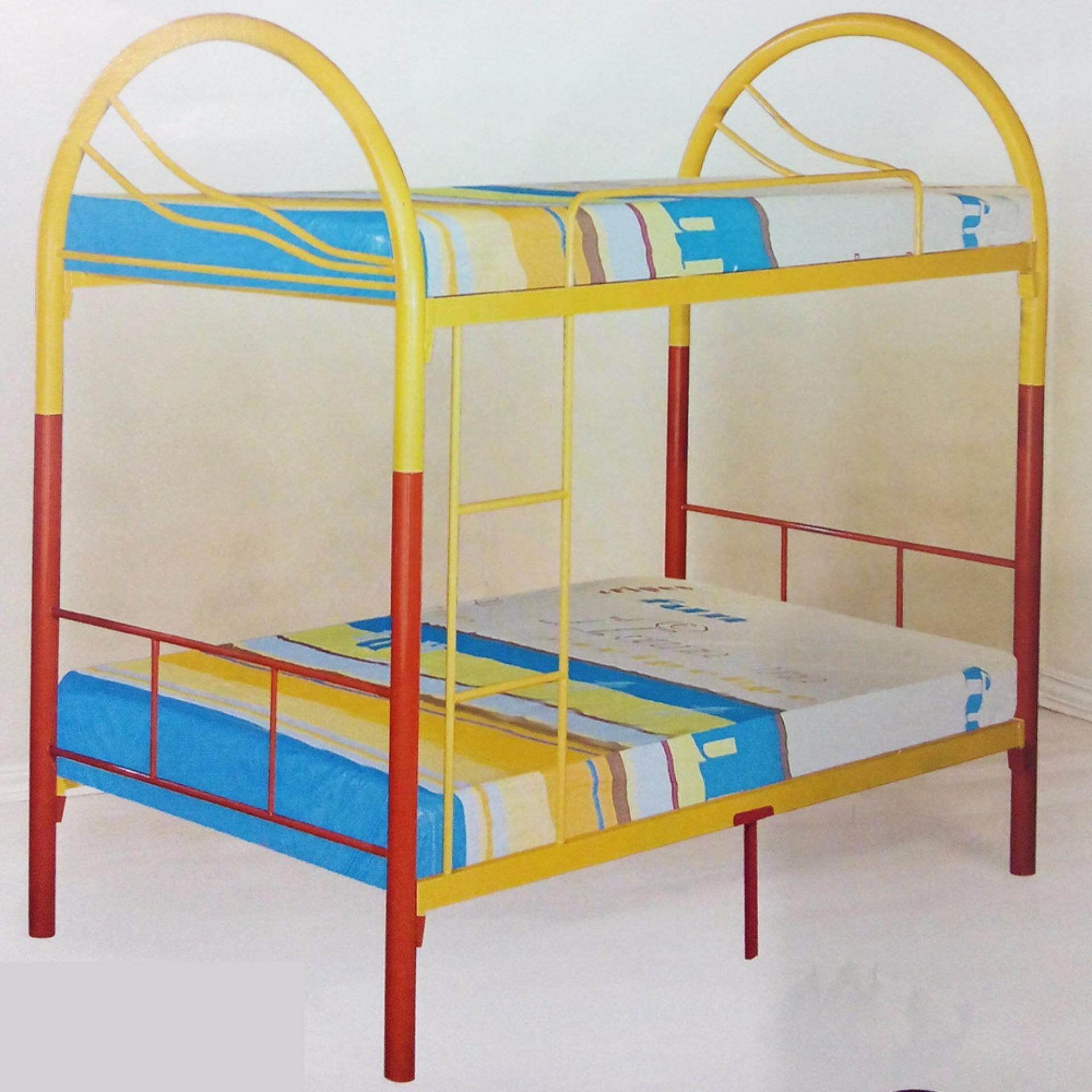 Steel double deck bed - Steel Double Deck Bed 56