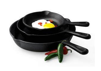 Harga Diameter 26 to send gifts cast iron frying pan