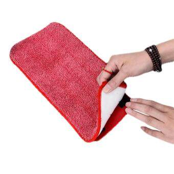 DIGILIFE Heavy Duty Easy Spray Mop with 2 Microfiber Mop Pad Floor Cleaning WYL09 (Red)