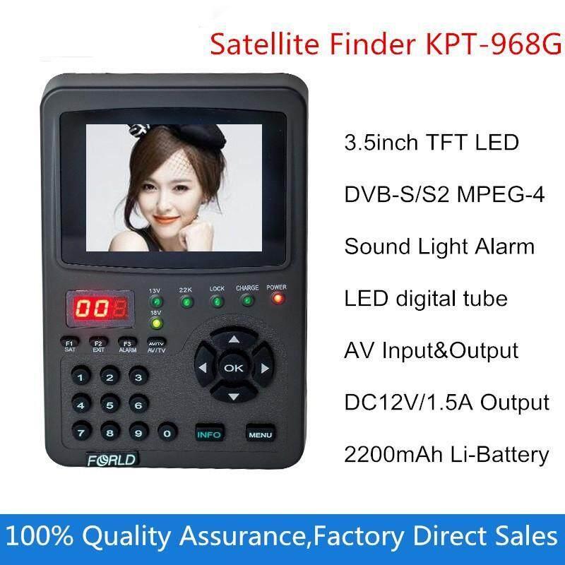 Buy Digital Satllite Finder KPT-968G 3.5Inch TFT LED Handheld Multifunctional HD Satellite Finder&Monitor Malaysia