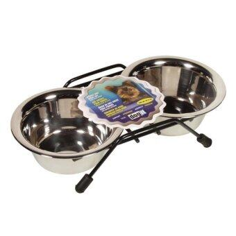 Dogit Stainless Steel Double Dog Diner - Mini - With 2 x 250 ml