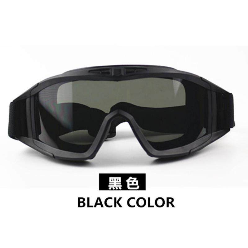 Durable Desert Military Airsoft Gear Tactical Goggles Shooting Glasses With 3 Lens Motorcycle Windproof Wargame Goggles