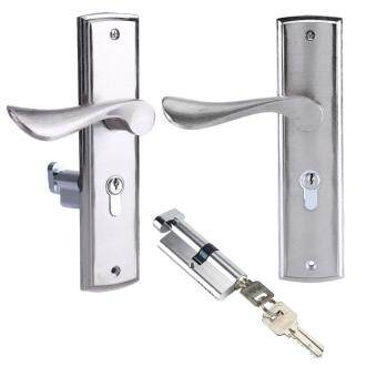 ... Durable Door Handle Lock Cylinder Front Back Lever Latch HomeSecurity with Keys - 4 ...  sc 1 st  Grace Price Explorer Malaysia - Katalog Produk Terkini Bulan ... & Harga Durable Door Handle Lock Cylinder Front Back Lever Latch ... pezcame.com