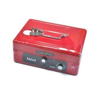 Harga Eagle Cash Box 668M - Medium (Item No:C04-02)