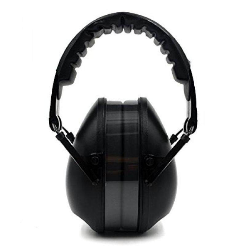 Ear Muffs, Shooting Range Earmuffs Ear Protector NRR 21 Adjustable&Foldable Soundproofing EarMuff Hearing Protection Headphones for Sleeping/Concert/Weeding/Travel/Sensitive Autism(BLACK)