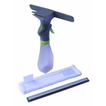 Easy Mop Window Spray Glass Wiper Cleaner w/Microfiber Cloth