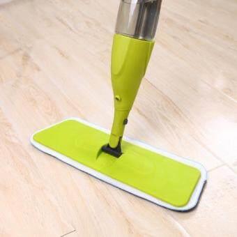 Easy Spray Mop with 2X Microfiber Mop Cloth (06) Green