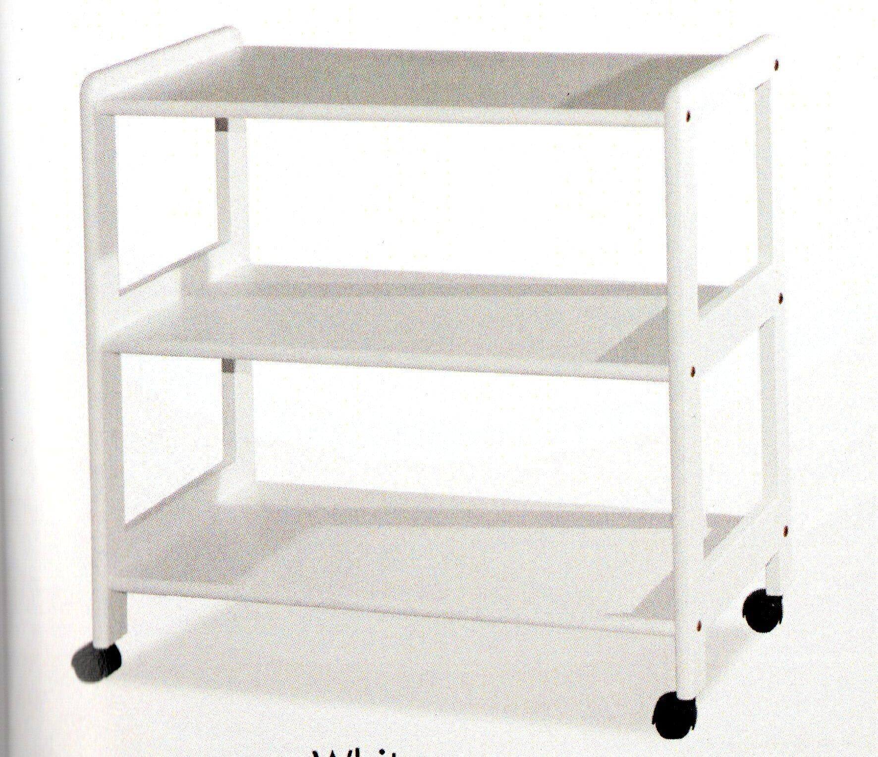 White Kitchen Trolley delighful white kitchen trolley heavy duty multifunction utility