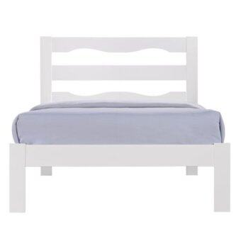 Harga Eco Series E04 Single Bed (White)