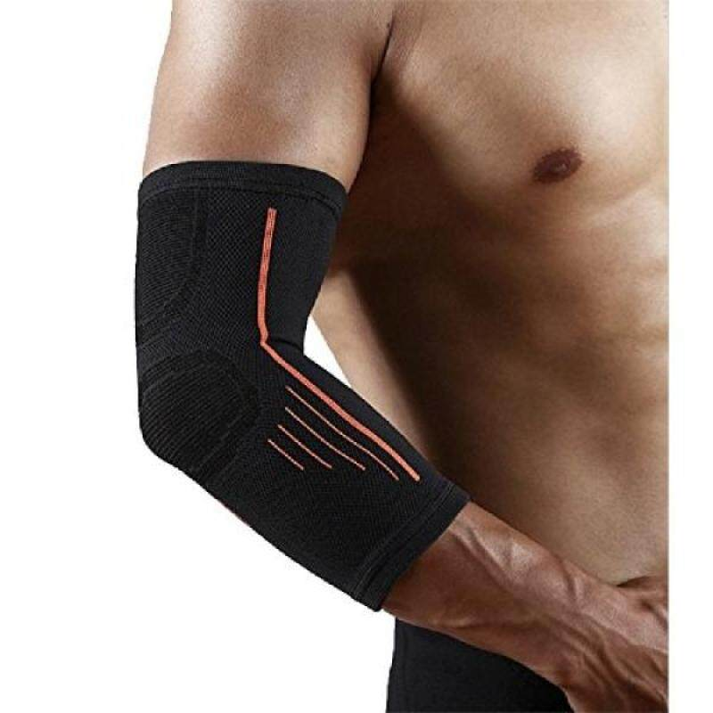 Elbow Brace Sleeves Compression Support Reduce Elbow Pain,Fitness And Outdoor Sports Essential (Black)