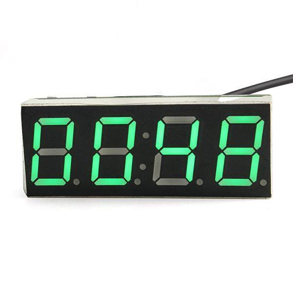 BEAUTIY CITY Electronic clock gree LED microcontroller digital time Light Control Temperature - intl
