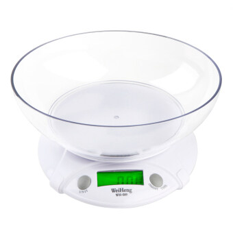 Electronic Kitchen Scale 7KG * 1G with Bowl