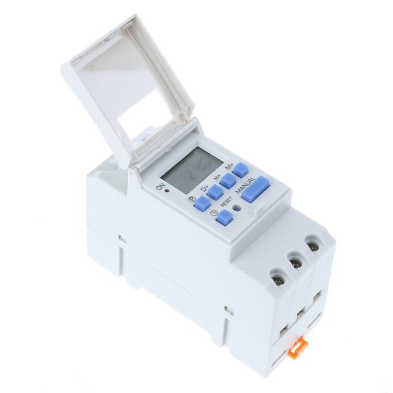 Buy Electronic Switch Weekly Programmable Digital Switch Relay Timer Controller(White)-220V Malaysia