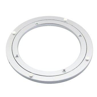 Harga eMylo Diameter 300mm Aluminum Lazy Susan Turntable Bearings forDining-table