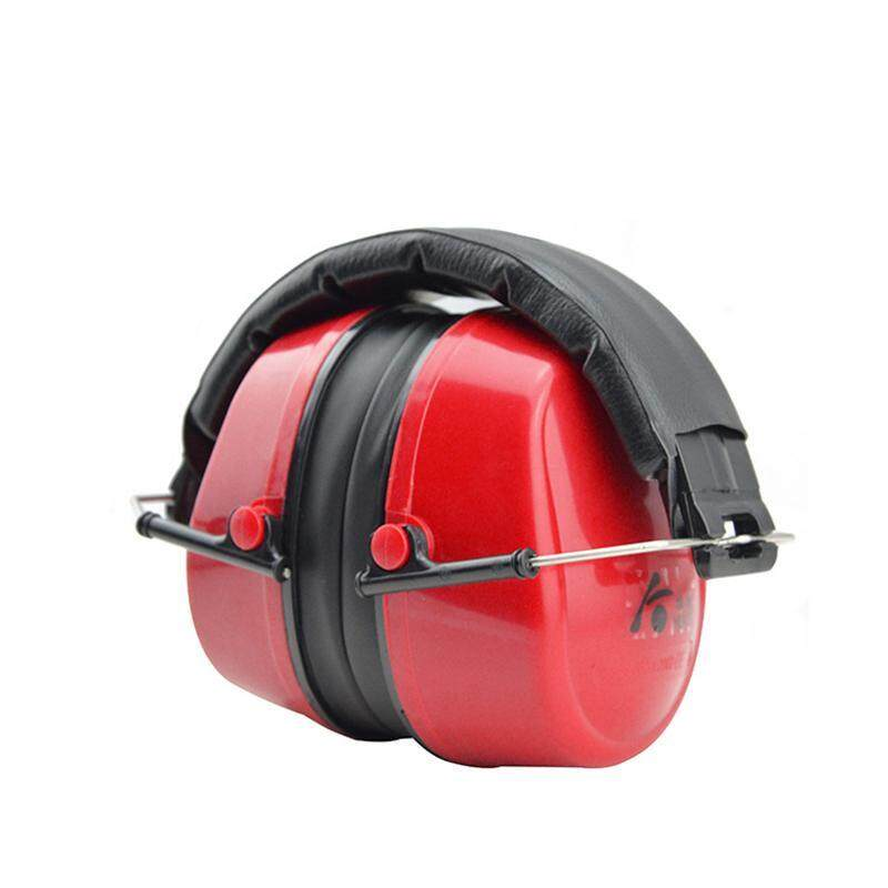 Buy EOZY Anti-noise Impact Sport Hunting Tactical Earmuff Shooting Ear Protectors Hearing Headset (Red) Malaysia