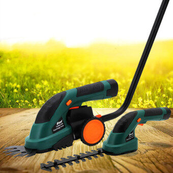 ET1502 Power Tools 7.2V Combo Lawn Mower Rechargeable Hedge Trimmer Grass Cutter Cordless Garden Tools - 5