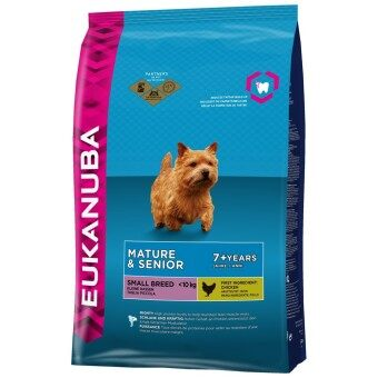 Harga Eukanuba Mature & Senior Small & Medium Breed - 3kg
