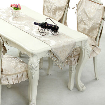 European Highgrade Luxury Cloth Table Coffee Table Embroideredtable Runner