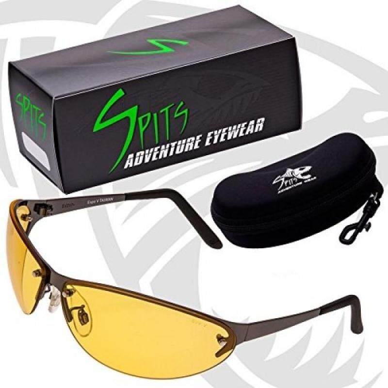 Expo V Yellow Photochromic Safety Glasses Metal Frame
