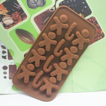 Factory direct supply silicone gingerbread man