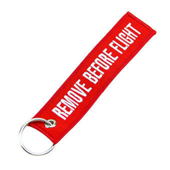 Harga Fang Fang Key Chain Luggage Tag (Red)