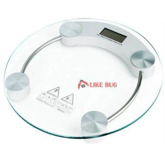 FARMIE: 33cm Round Digital LCD Tempered Glass Weighing Scale