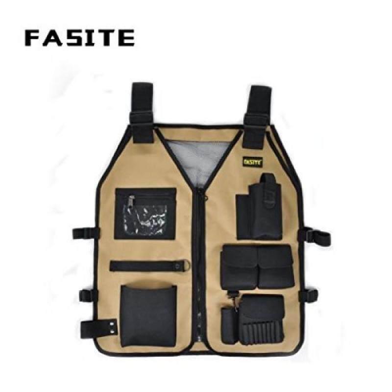 FASITE Work Tool Vest outdoors jacket for carpenter electrician builder
