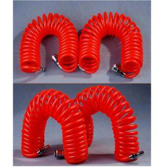 Harga Fengsheng Hoses & Pipes 6M 19.7Ft 8mm x 5mm PU Recoil Hose Spring Tube For Compressor Air Tool