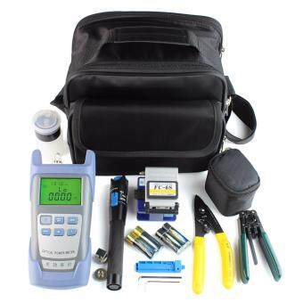 Harga Fiber Optic FTTH Tool Kit with FC-6S Fiber Cleaver and OpticalPower Meter 5km