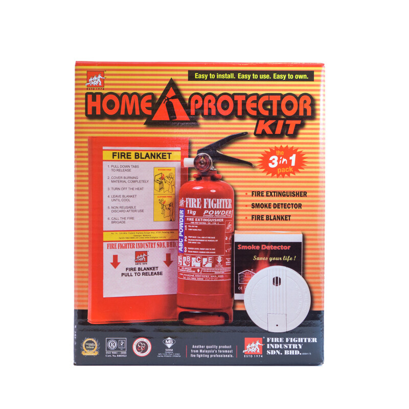 Buy Fire Fighter Home Protector Kit Malaysia