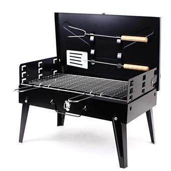 Harga Foldable Barbecue Briefcase Style Folding Barbecue Grill ToasterBarbeque