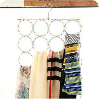 Foldable Silk Scarf Rack