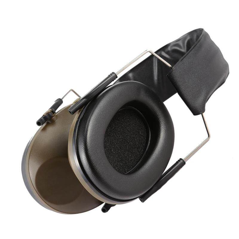 Folding Hearing Protector Soundproof Headset Earmuff (Army Green)
