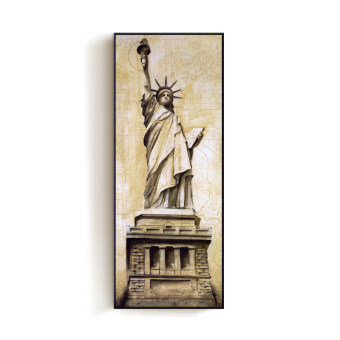 Free goddess meter box New York Empire State Building paintings