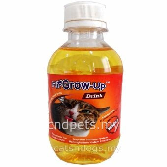catsndogs my fur grow up drink enriched vitamin c 250ml