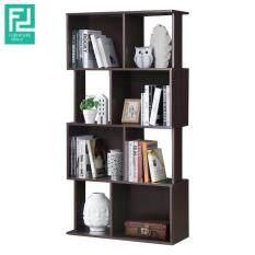 Furniture Direct Jayden Book Shelf Display Cabinet Wenge