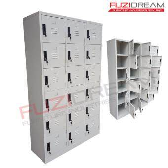 Harga FUZI DREAM 18 COMPARTMENT METAL LOCKER