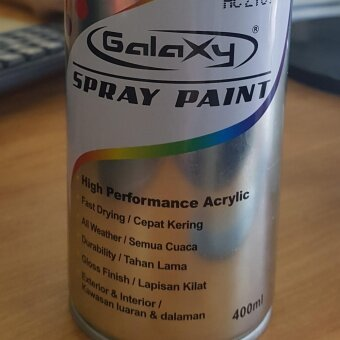 Harga Galaxy Spray Paint (MOQ)