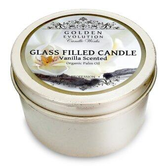 Harga GE Candle Works [Set of 2] Vanilla Scented Tin Filled Candle