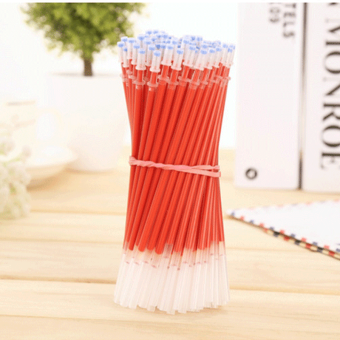Gel pen core blue/red/0.5mm stationery pen for the core