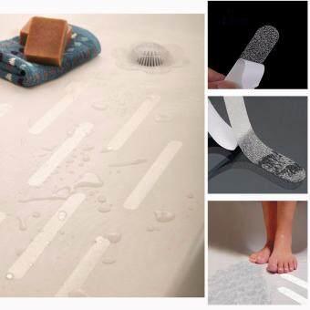 GETEK Bath Tub Shower Treads - 7.9 inch Non Slip Anti Skid SafetyApplique Strips Grip