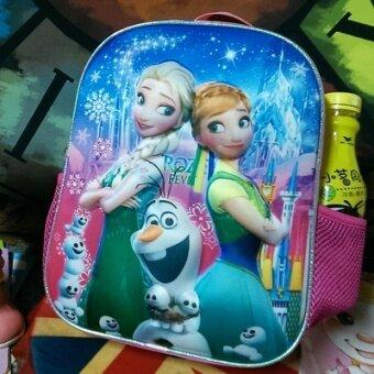 Girl's children's backpack kindergarten school bag