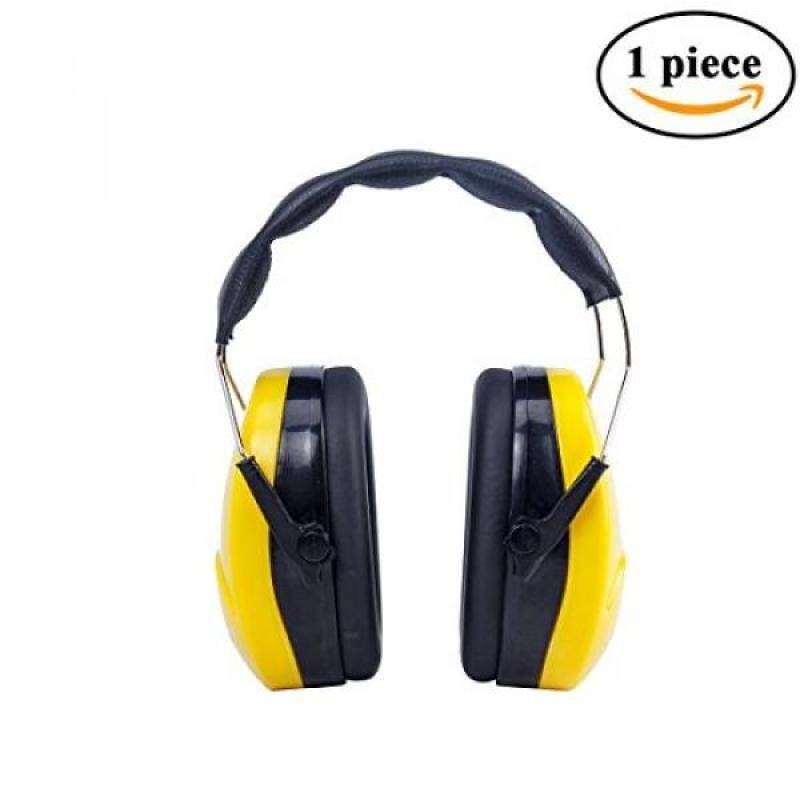 Golden Scute Hearing Protection Safety Ear Muffs, NRR26dB,Padded Headband, High Noise Reduction Rating , 1 piece