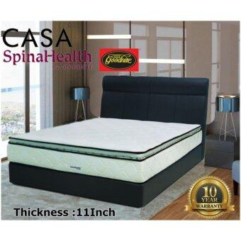 "Harga Goodnite 11"" Plush Top Double Posture Coil (DPC) King Spring Mattress Only 10 year warranty IPLUSH"