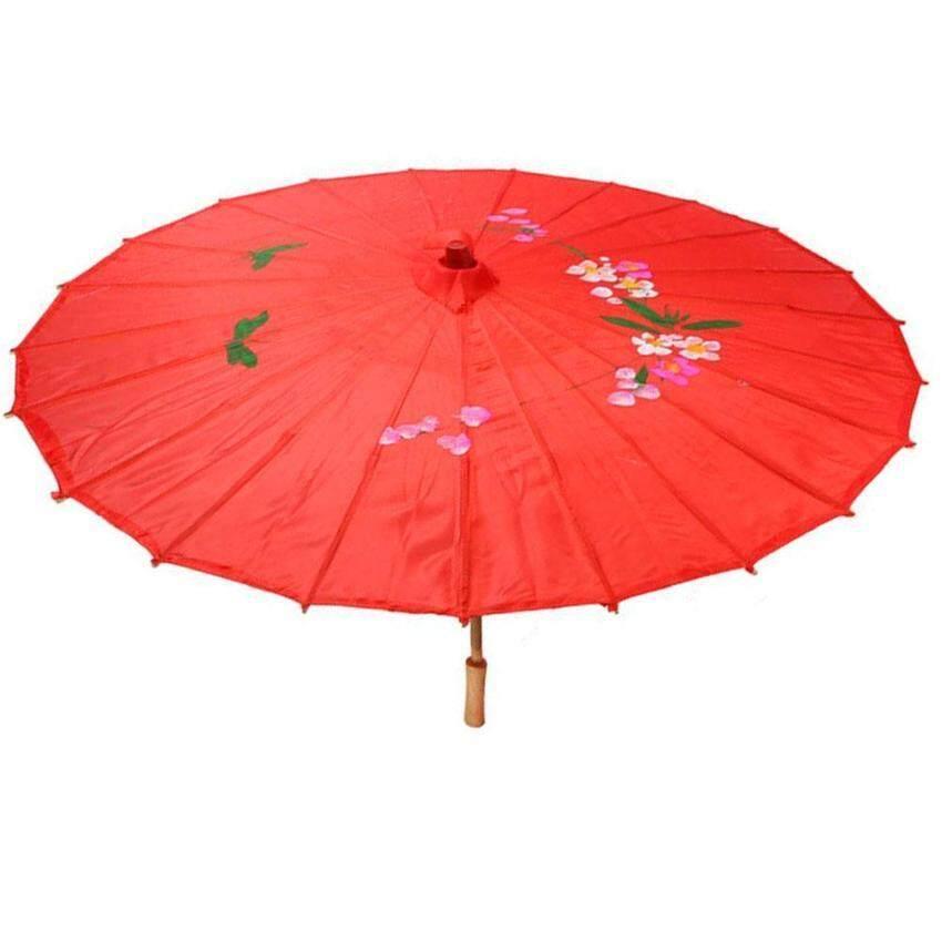Harga 360dsc Portable Folding Umbrella Retractable Brolly Parasol Source · Gracefulvara Red Cloth Bamboo 21 Dia Chinese Oriental Umbrella Parasol Malaysia